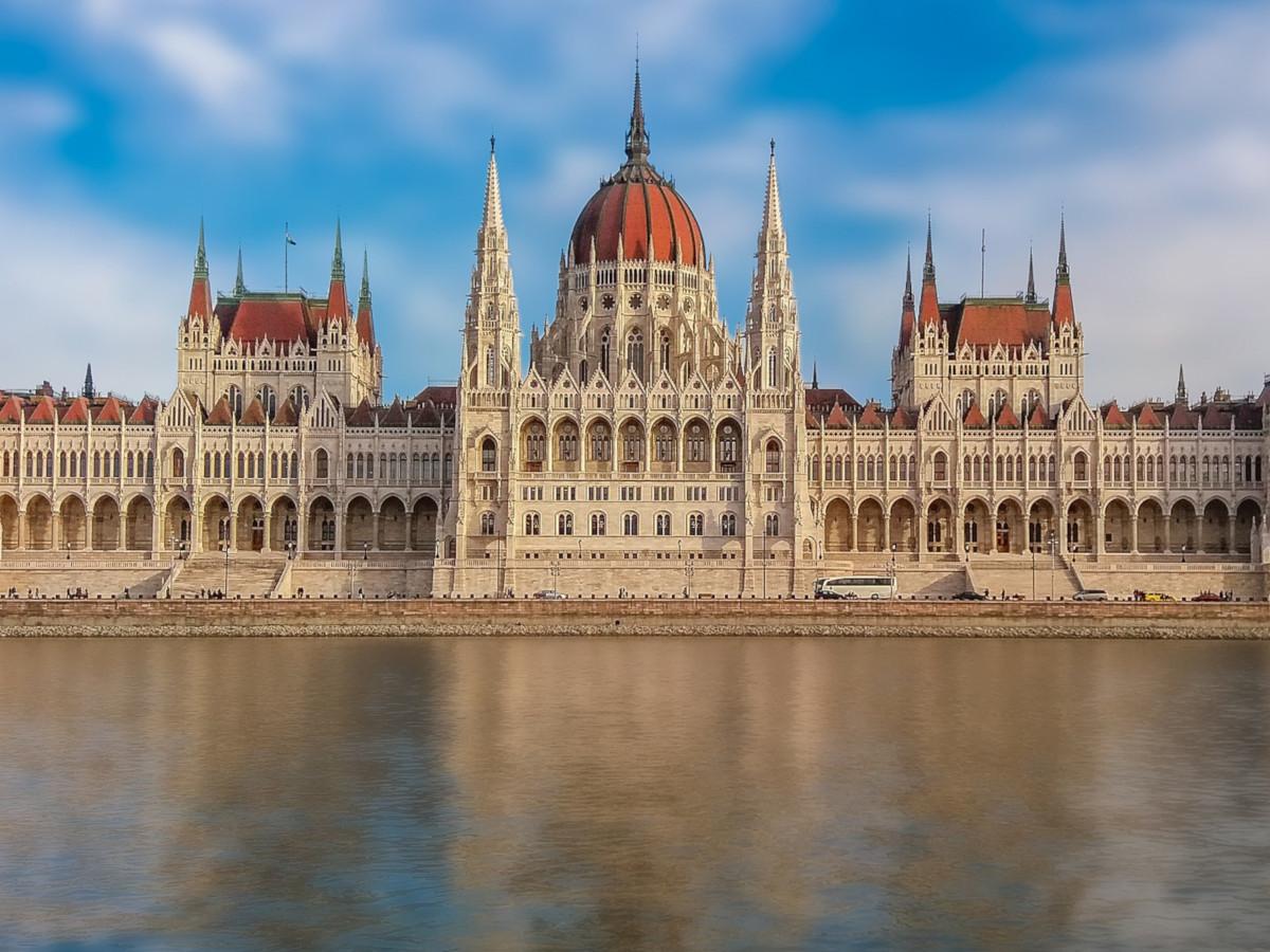 Budapest's parliament dominates the riverside