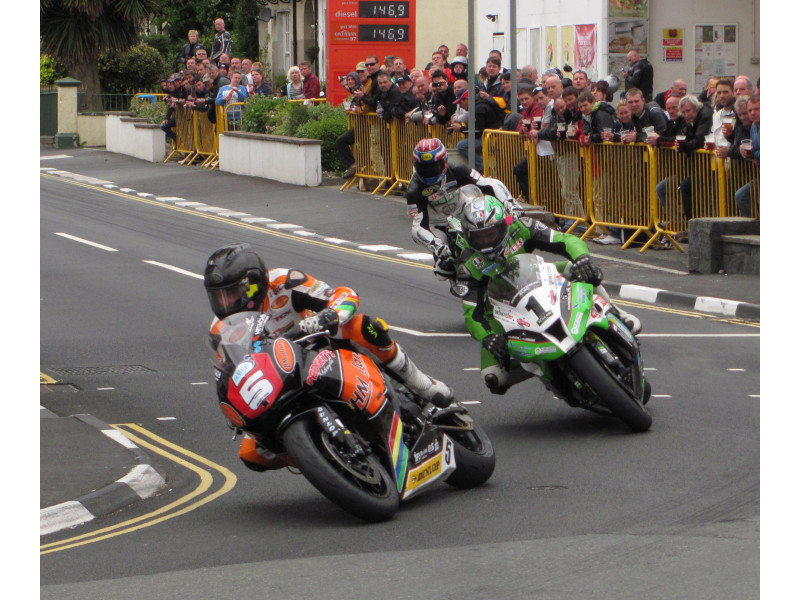 The Isle of Man is a scintillating event
