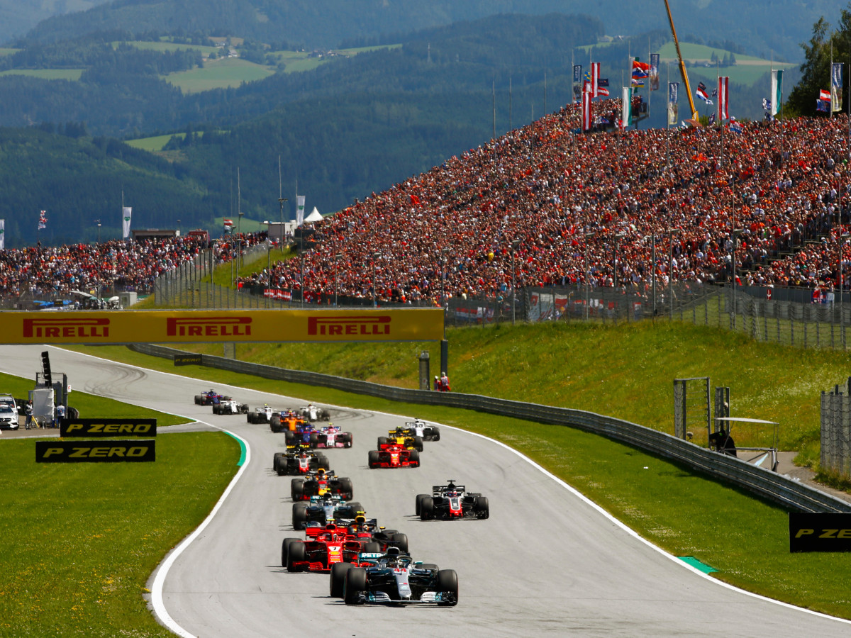 Formula 1 visits rural Spielberg each July