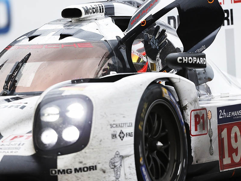 Hulkenburg enjoyed victory in his first and only attempt at the 24 Hours of Le Mans
