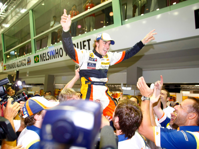 Alonso was the first victor in 2008