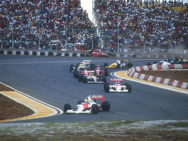 Sao Paulo's Interlagos returned in 1990