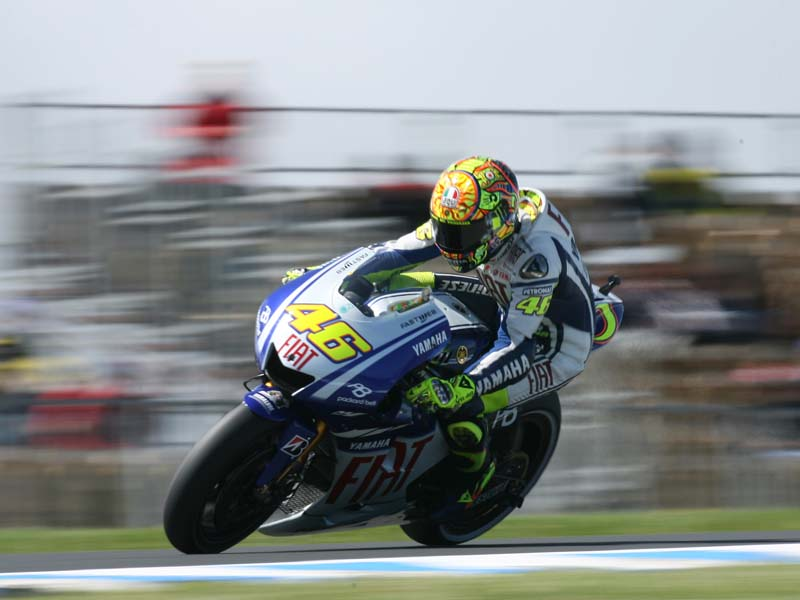 Rossi last won the MotoGP title with Yamaha in 2009