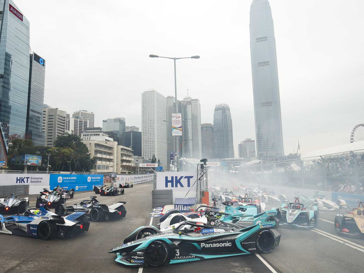 The Hong Kong Formula  round is framed by the amazing cityscape