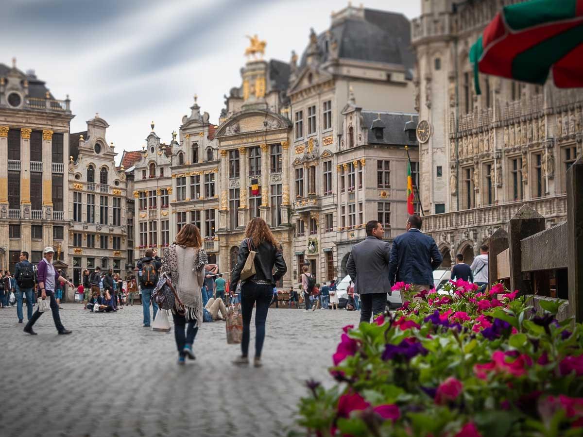 Brussels is Belgium's capital
