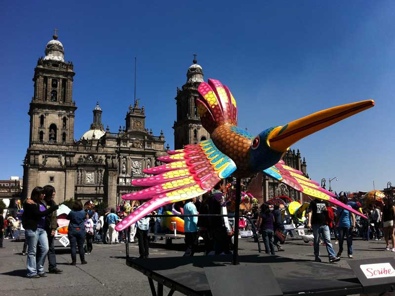 Zocalo Square, and its activites, are popular