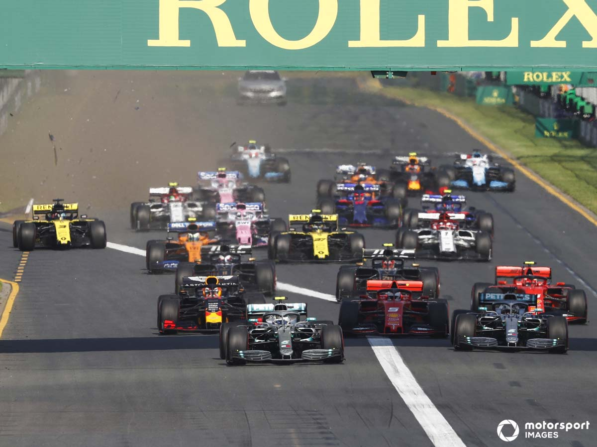 The season begins in Melbourne for the Australian Grand Prix