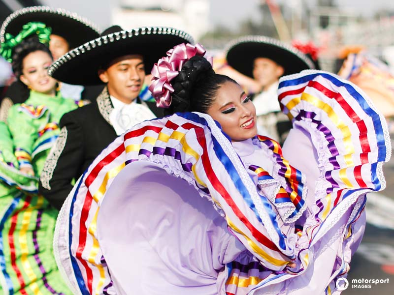 The Mexican Grand Prix overflows with local culture