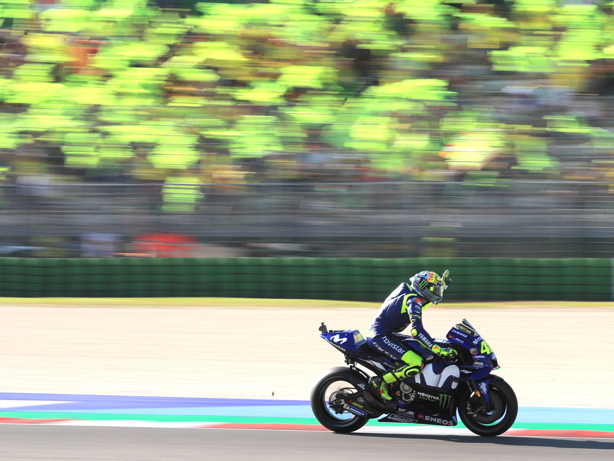 Rossi is the unmatched fan favourite at Misano