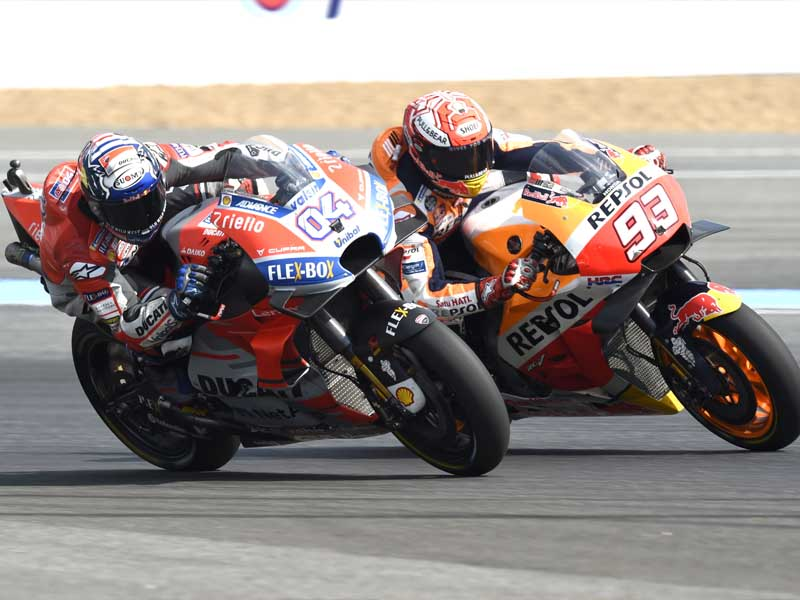 Close racing was on show in 2018