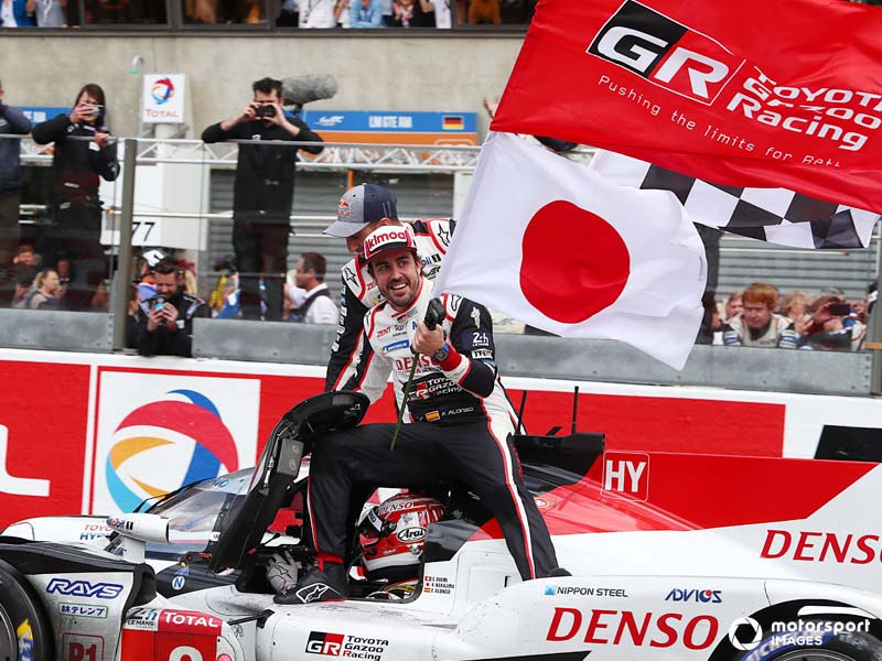 Toyota enjoyed high profile success with Fernando Alonso in the 2018/2019 Super Season, including two 24-Hours of Le Mans wins