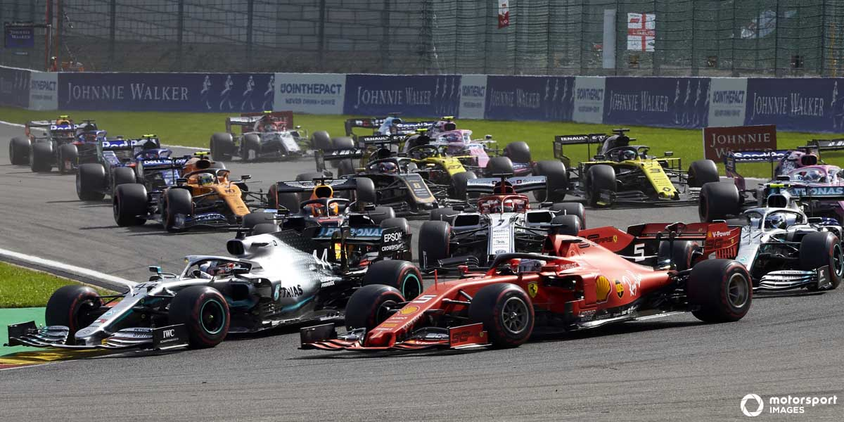 The 2020 Season is the first 22 race schedule for Formula 1