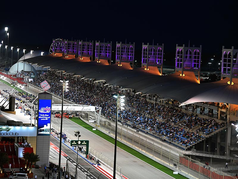 Bahrain joined the night race fraternity