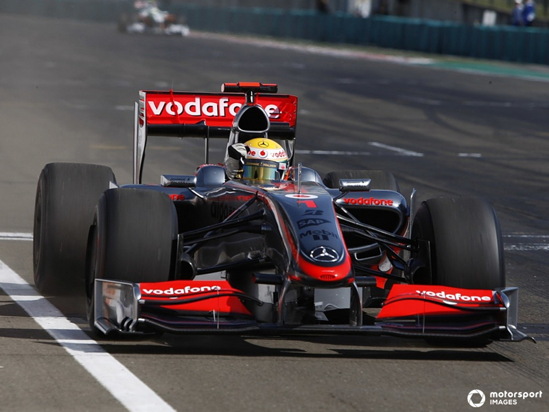 Lewis Hamilton takes the first KERS win for Mclaren Mercedes