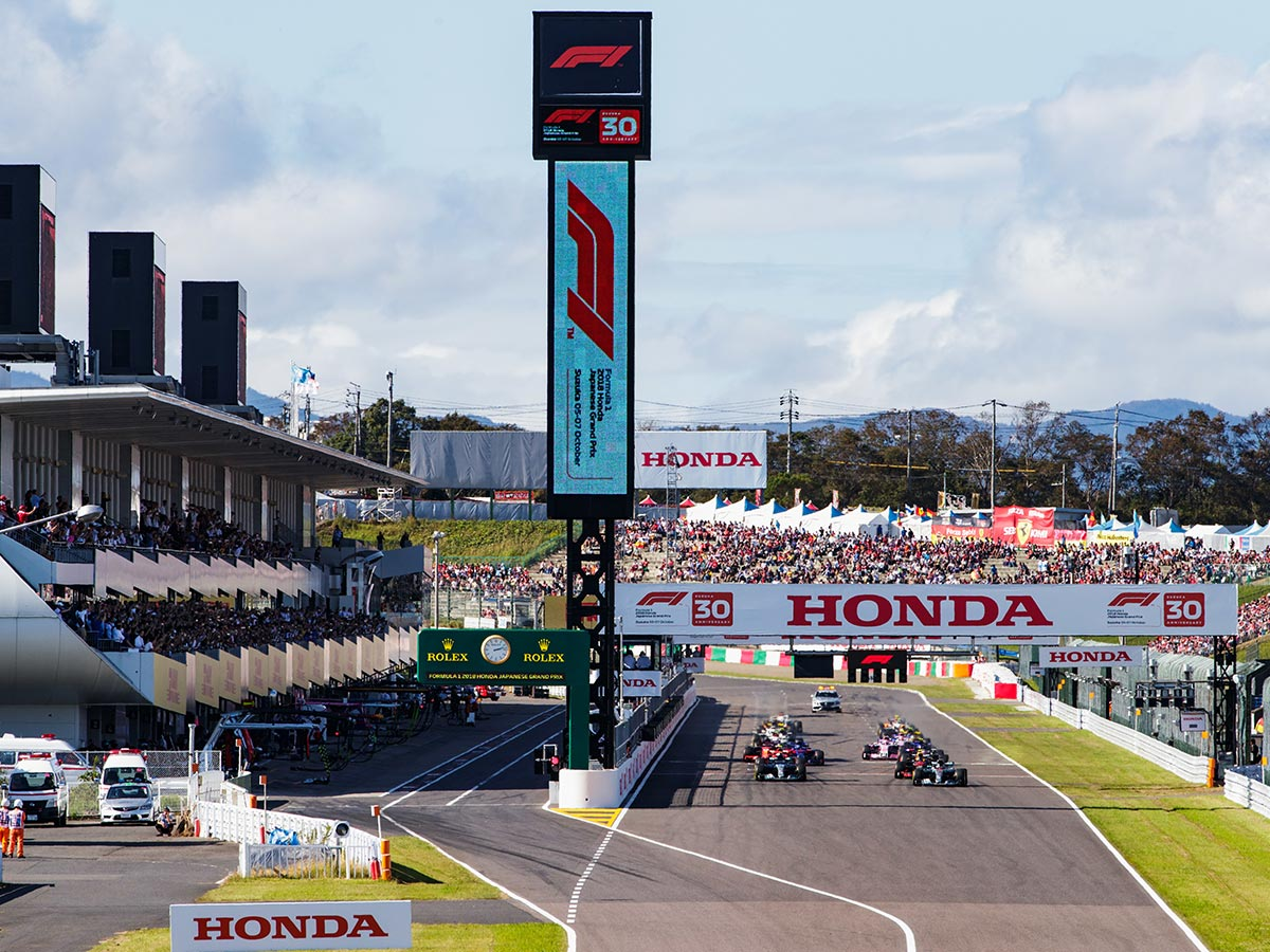 Suzuka is firmly established as the home of Japan's Grand Prix