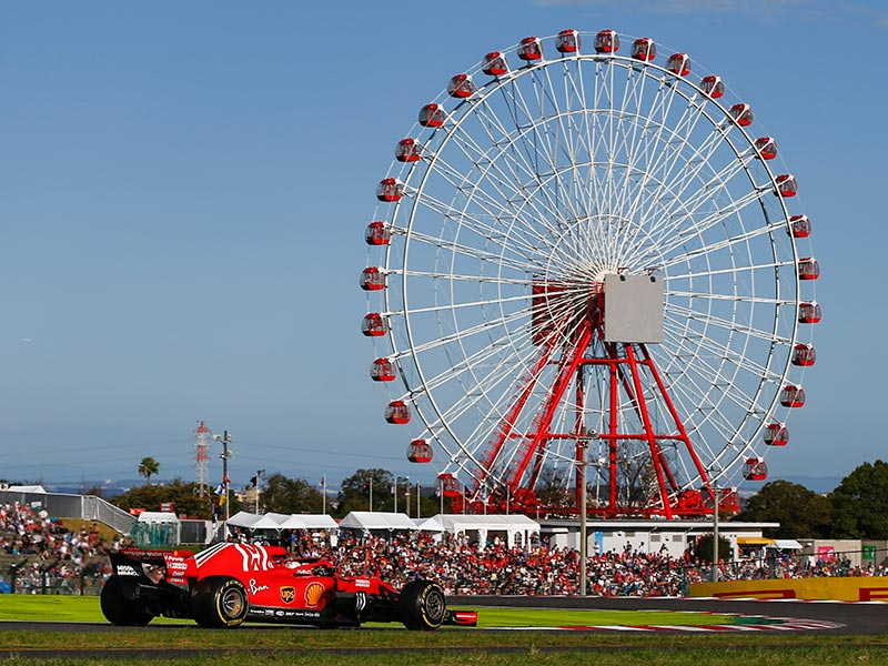 Suzuka is Formula 1's only figure-of-eight circuit