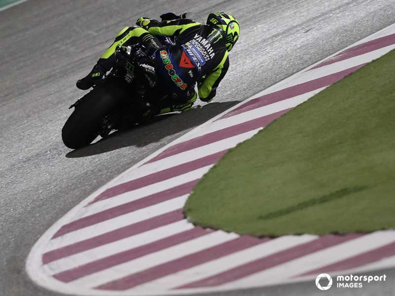 Rossi matched Stoner's four Qatar wins