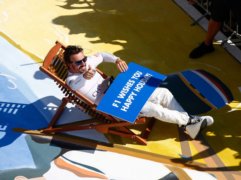 Fernando Alonso understands the appeal of holiday more than most
