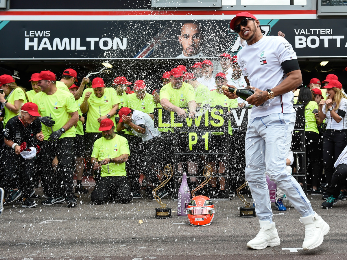 Lewis Hamilton leads the way in Formula 1