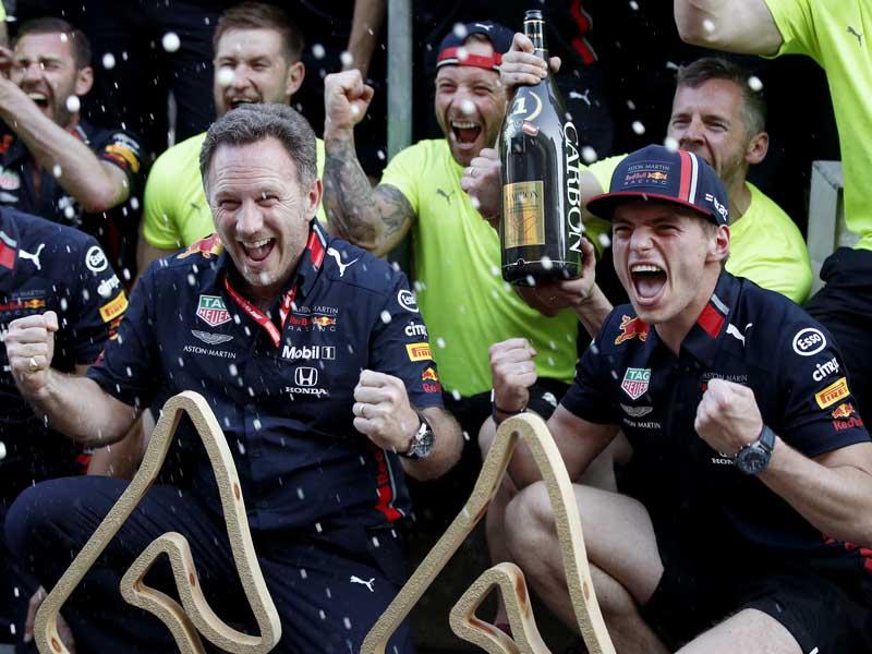 Verstappen gave Red Bull-Honda victory in Austria