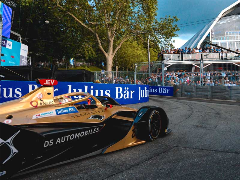 Vergne inched closer to the Formula E title