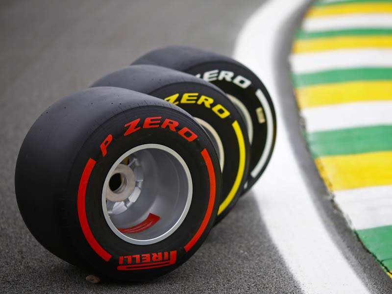 The different compounds of tyres in Formula 1