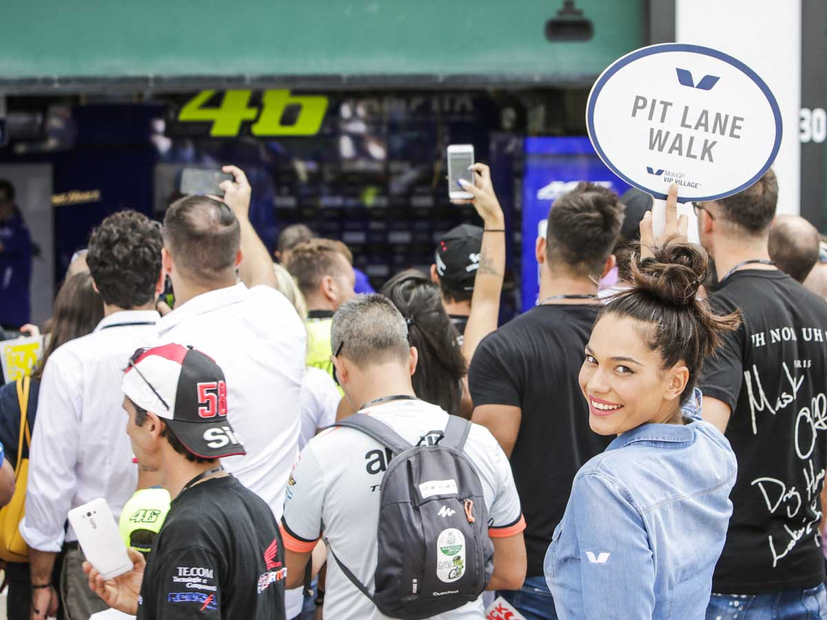 VIP Paddock Tours are exclusively part of the MotoGP VIP Village package