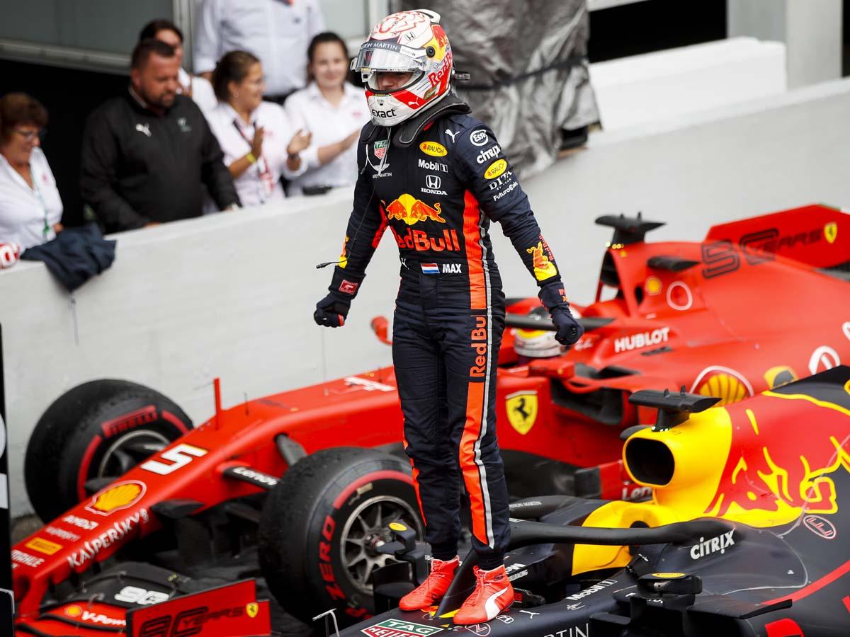 Verstappen triumphed at a crazy German GP