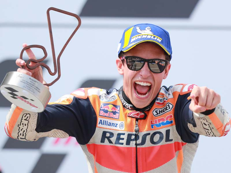 Marquez took another step to MotoGP glory
